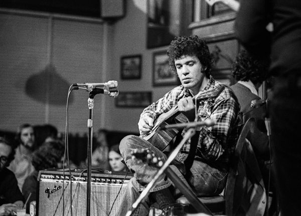 Michael Bloomfield - San Francisco.  The first guitar hero of the 60's