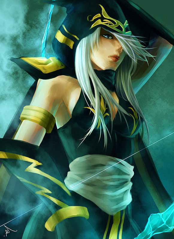 96 best images about League of Legends - Ashe on Pinterest ...