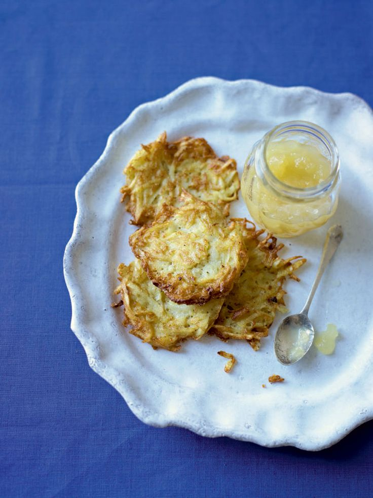 This special latkes recipe from Denise Phillips is perfect for celebrating Hannukah, the annual Jewish festival of light.