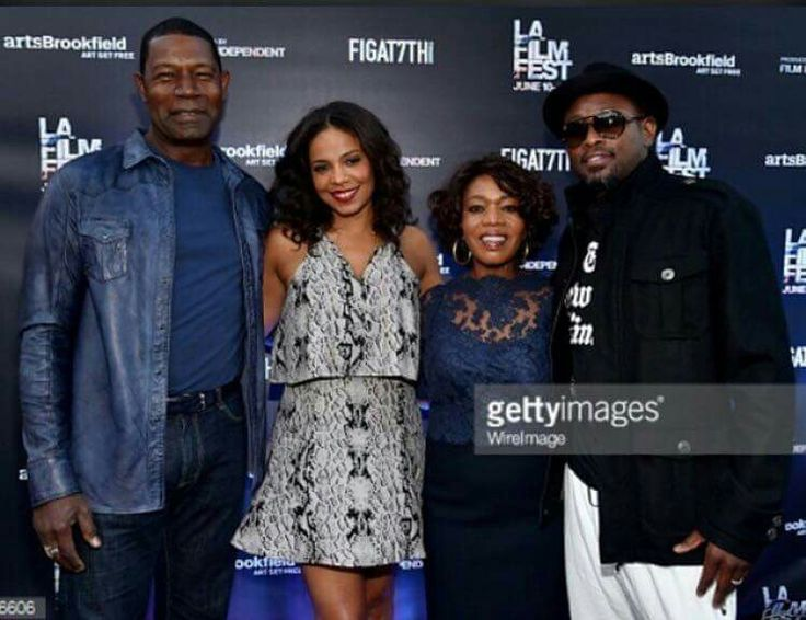 The cast of Love and Basketball over one decade later; I love Sanaa Lathan and Omar Epps!  ❤
