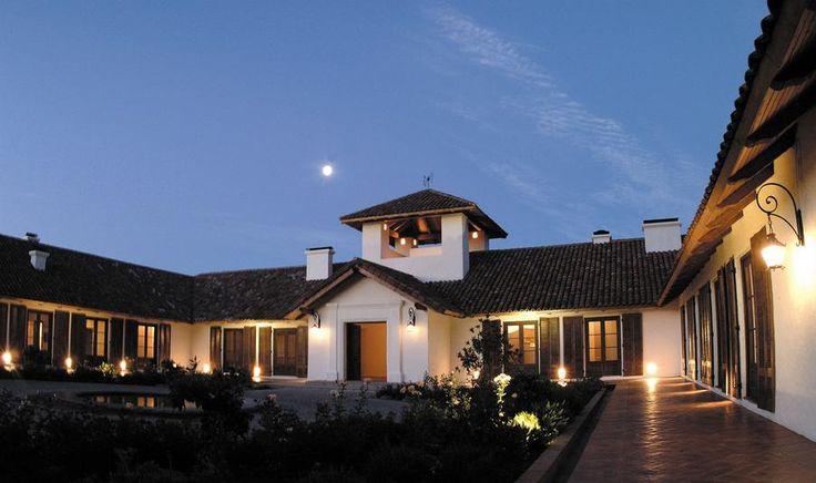 Vina Los Vasos at dusk, #Colchagua