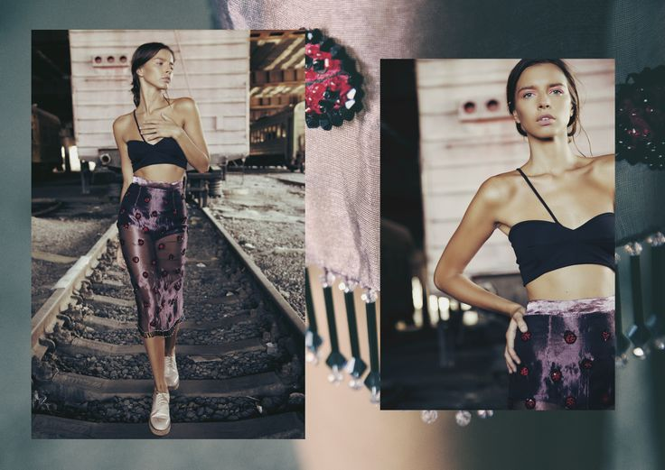 ANOUKI | Sheer organza skirt with hand-embroidered ladybirds and ANOUKI signature shoes.