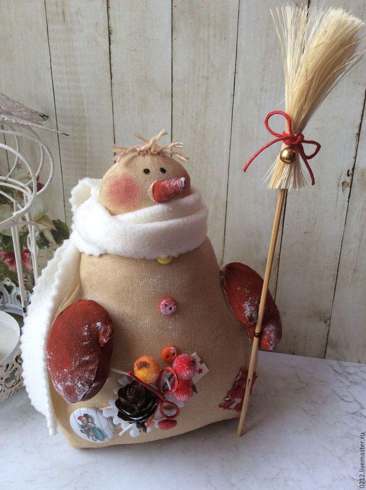Купить Кофейный Снеговик - коричневый, Новый Год, новогодний подарок, новогодний сувенир, новогодний декор