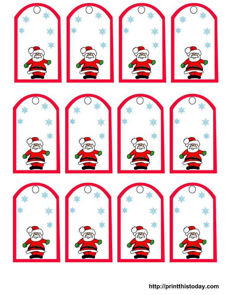 135 best free printable christmas cards tags images on pinterest free printable christmas cards printable santa claus christmas gift tags print this today negle Image collections