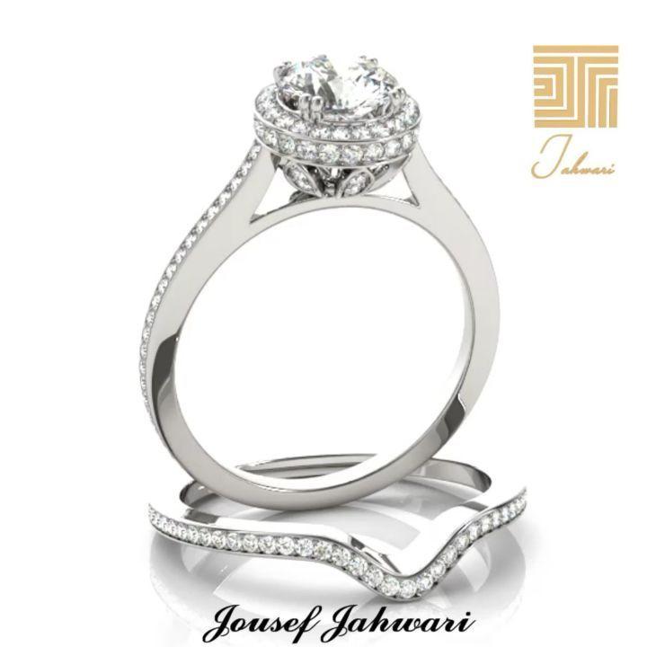 مهما كثرت صيحات خواتم الزفاف يبقى لل خاتم المصنوع من ال ألماس بصمته الخاصة والتي تعز ز من جمال إطلالة ال عروس كما سيبق Engagement Rings Jewelry Engagement