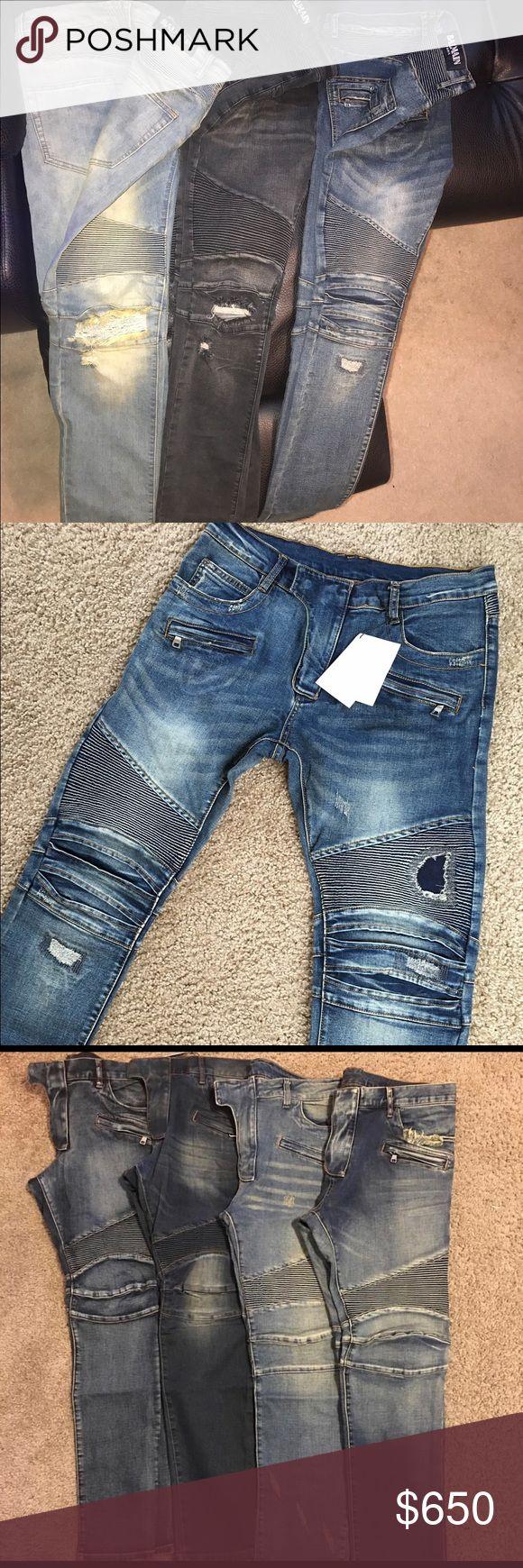 Balmain jeans Men Balmain jeans Balmain Jeans Slim Straight