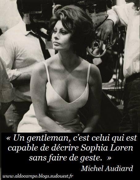 Être gentleman vu par #AUDIARD