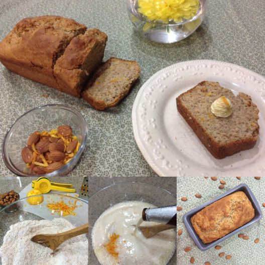 """Rise & Shine Zesty Almond Orange Beer Bread A quick """"rise"""" recipe combining beer & sunshine for any time of the day!"""