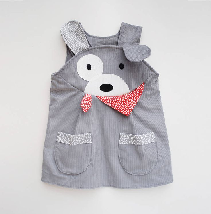 Puppy Dog Play Dress - Tap the pin for the most adorable pawtastic fur baby apparel! You'll love the dog clothes and cat clothes! <3