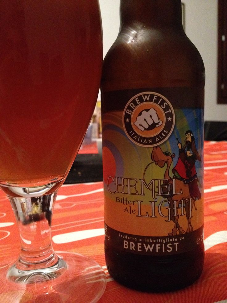 Brewfist Chemel Light Brewed by Brewfist Style: Bitter Codogno (LO), Italy