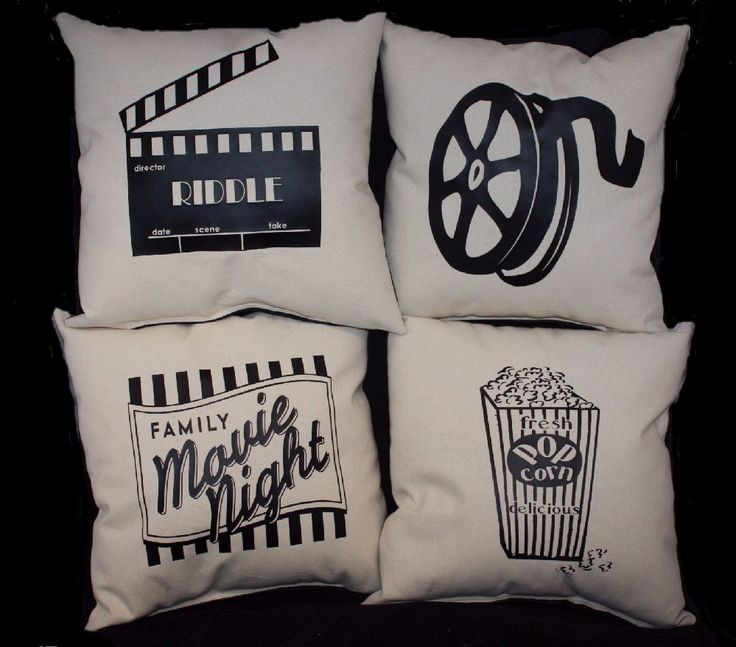 17 best home theatre theater pillows images by pillowshack on