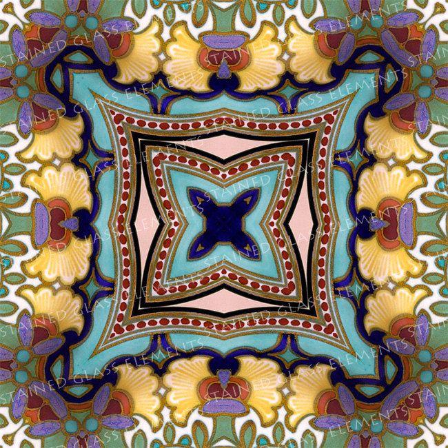 Ceramic transfer Plateel, size 10 x 10cm (3.94 x 3.94 inch), firing temperature 1400-1562 ºF, ceramic decal tiles, Plateel ceramic decals door StainedGlassElements op Etsy