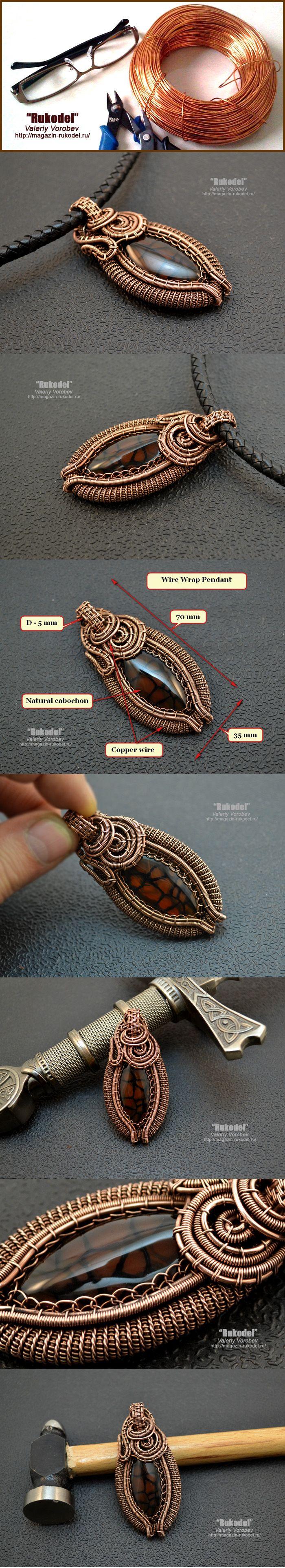 105 best Wire Wrap Tutorials images on Pinterest | Jewelry ideas ...