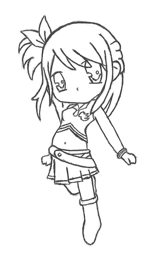 Fairy Tail Chibi - Lucy by RebeccaProductions on ...