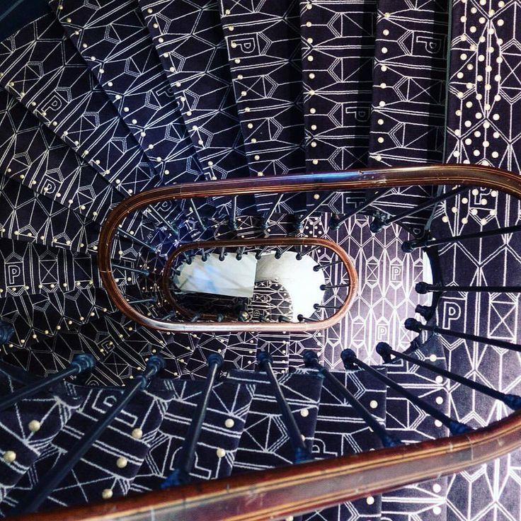 Bespoke carpet in the stairwell at Hotel Panache. #sibellacourt   #reedsunaidiexpo #sunaidiexpo  #decofair #exhibition #interiordesign #decor #homedecor #interior #interiordesign #design #outdoor  #art #furniture  #saudiarabia  #jeddah #riyadh