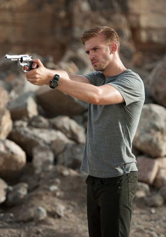 'Downton Abbey's Dan Stevens Talks About His Sexy & Sinister Turn in 'The Guest' — EXCLUSIVE PHOTOS