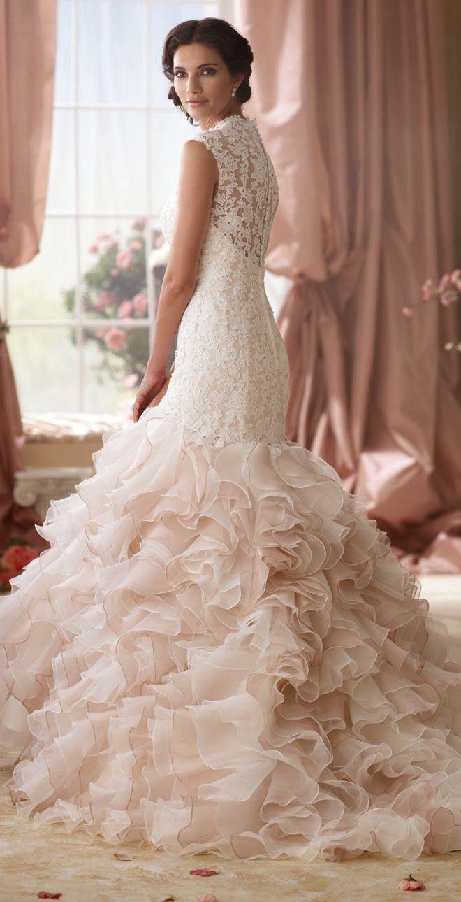David Tutera for Mon Cheri Spring 2014 Bridal Collection | bellethemagazine.com