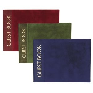 Luxury Cover Guest Books