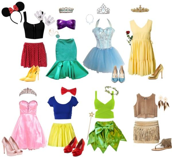 """""""Disney Halloween Outfits"""" by allilaz ❤ liked on Polyvore"""