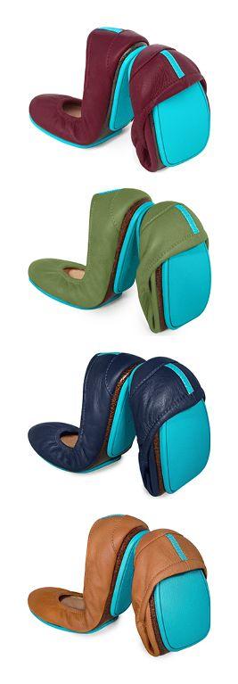Fall color inspiration - Tieks Ballet Flats