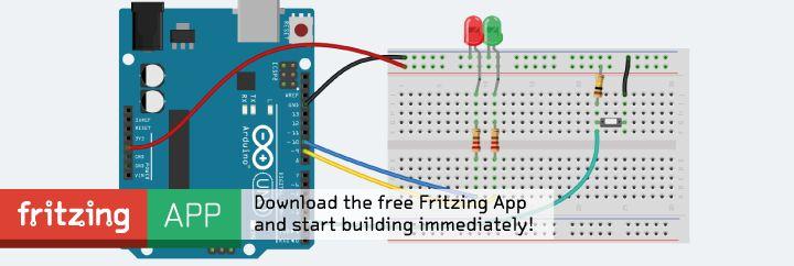 Fritzing: Doing Arduino schematics