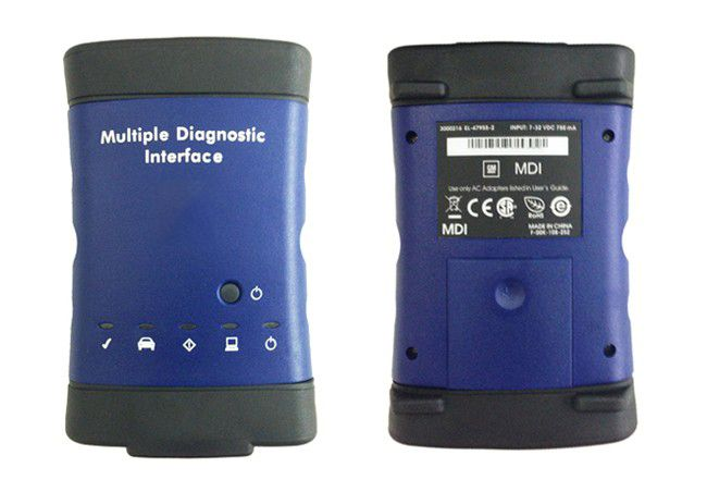 www.OBD2Buy.com MDI (Multi Diagnostics Interface) is the genuine Vauxhall / Opel dealer diagnostics interface, which when combined with Global TIS, GDS 2, Tech2Win software, and a new laptop, provides full dealer level diagnostics and programming for all Vauxhall /Opel 16 pin vehicles from 1996 to present day.