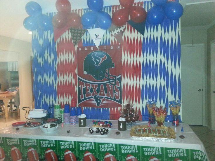 Texans theme party!