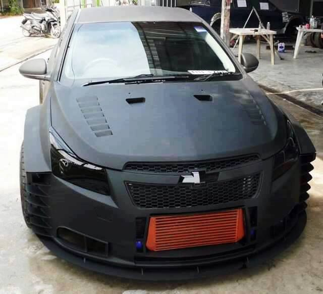 Latest Pics Of Modified Chevy Cruze Black Cars | 2017 ...