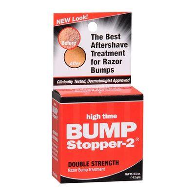 High Time Bump Stopper-2 Double Strength Razor Bump Treatment 0.5 oz