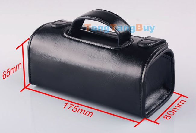 Mens Travel Toiletries Cosmetic Bag Black PU leather Shaving Wash Toiletry Case | eBay