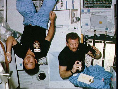 Ellison Onizuka Photo 2 - STS 51-L. Image Credit; NASA