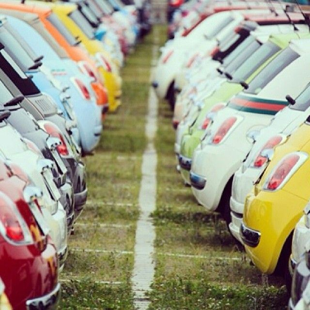 That's what we call a #paradise. #Fiat500 #Cars-Motorcycles