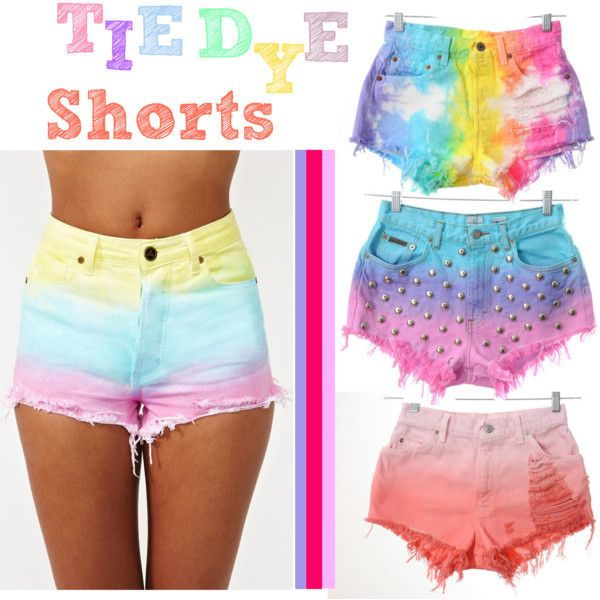Shorts teñidos