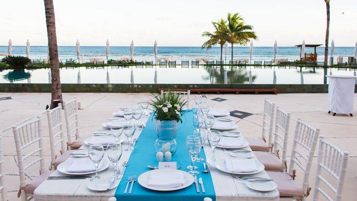 Bistro Terrace Event    #GVRivieraMaya #GrandVelas #VelasResorts #VelasMeetings