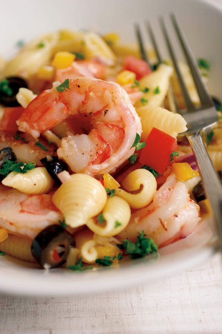 17 best ideas about shrimp pasta salads on pinterest for Prawn and pasta salad recipes