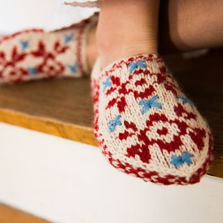 Olsdatter Slippers by Kristin Drysdale ~ FREE pattern to Nov 19th 8:30pm