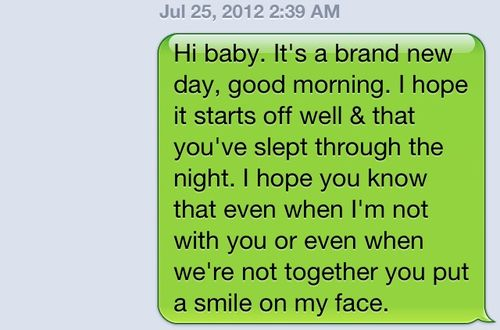 cute goodmorning texts for him - Google Search