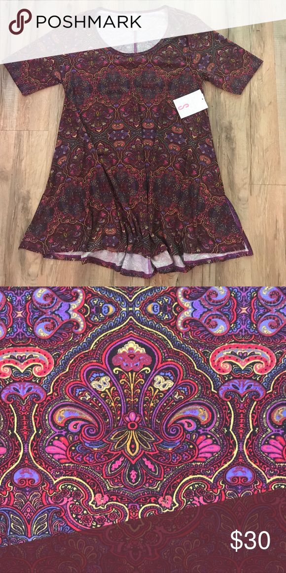 Small Lularoe Perfect Tee Super soft and stretchy. Perfect length for leggings or jeans. LuLaRoe Tops Tees - Short Sleeve
