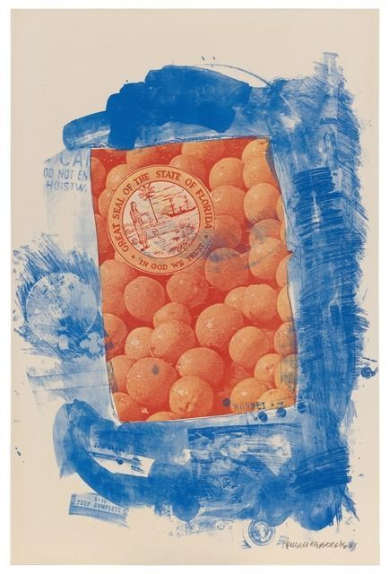 Robert Rauschenberg, 'Banner (Stoned Moon),' 1969, San Francisco Museum of Modern Art (SFMOMA)