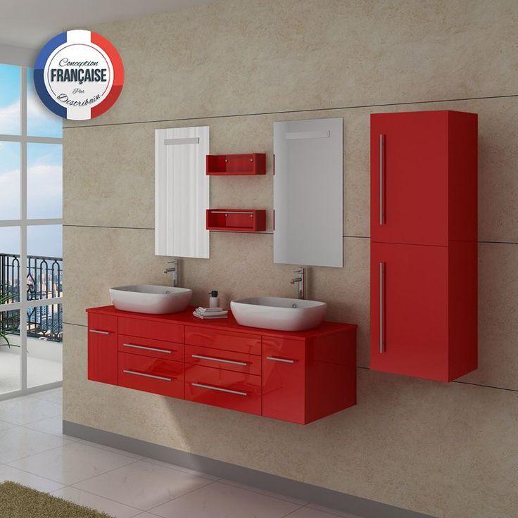 17 best images about meubles de salle de bain on pinterest for Meuble salle de bain taupe