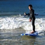 Kids can learn surfing too! A pleasure to learn some of this in learntosurf.travel