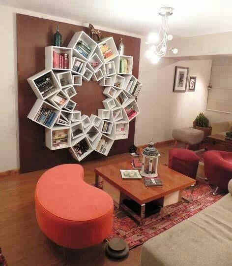 DIY bookshelf idea