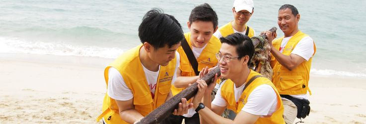 """The Public Hygiene Council held the Corporate Clean-Up Week from 7 to 11 November 2016 as part of the """"Keep Singapore Clean"""" campaign—an initiative to promote awareness of anti-littering. The objective of the Corporate Clean-Up Week is to instill a sense ofownership through beach clean-up activities carried out by organisations, schools and communities."""