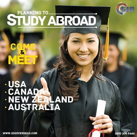 SIG Overseas Education - Providing education services to students in Australia, New Zealand, Canada, United States and many other countries.