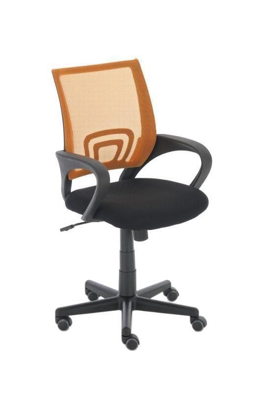"""""""De bureaustoel Moniek is een hoogwaardige bureaustoel met een gazen bekleding in de zitting. Gazen bekledingen hebben een hoge ventilatie en luchtcirculatie, wat bij hoge temperaturen beslist van voordeel is.  Het onderstel is heel stabiel. De stoel staat stevig op 5 licht gangbare wielen. De zithoogte is zonder overgang verstelbaar."""""""