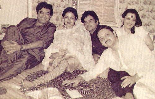Sanjeev, Moushami , Shatrughan and Rekha
