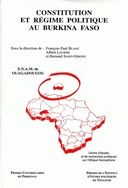 A constitutional history of the political regime in Burkina Faso to 1994