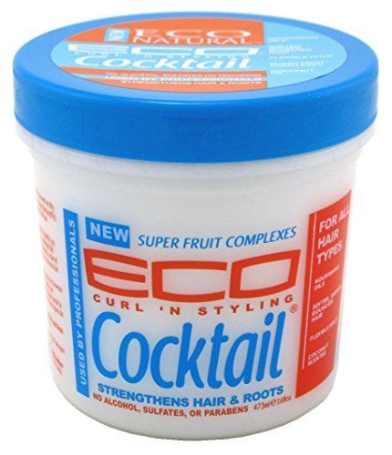 Eco Curl & Style Cocktail Strengthens Hair & Roots 16oz Eco Styler