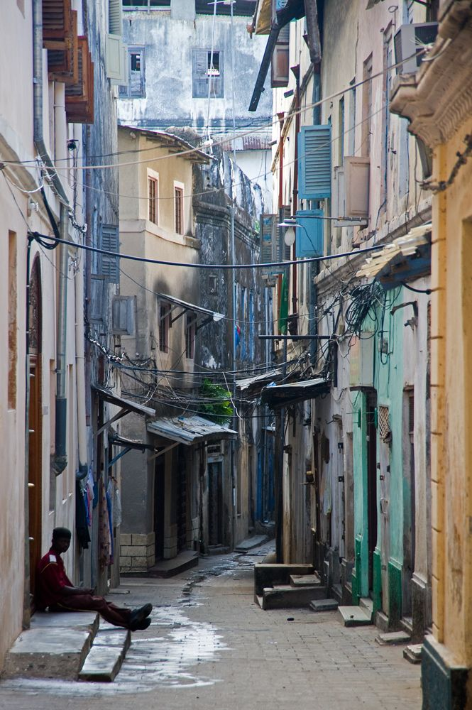 """""""The best way to explore Stone Town is on foot, but the maze of lanes and alleys can be very disorientating."""" Zanzibar: the Bradt Guide; www.bradtguides.com"""