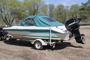 SeaRay 180 Boat, with 150 Merc Outboard Winnipeg Manitoba image 8